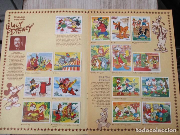 Coleccionismo Álbum: ALBUM CROMOS COMPLETO ORIGINAL FESTIVAL DEL DIBUJO ANIMADO + DISNEY EDITORIAL PACOSA - Foto 3 - 124539179