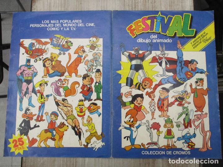 Coleccionismo Álbum: ALBUM CROMOS COMPLETO ORIGINAL FESTIVAL DEL DIBUJO ANIMADO + DISNEY EDITORIAL PACOSA - Foto 5 - 124539179