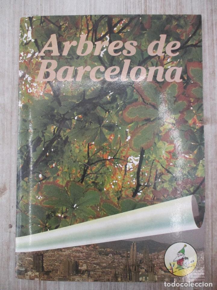 ALBUM CROMOS COMPLETO ORIGINAL ARBRES DE BARCELONA (Coleccionismo - Cromos y Álbumes - Álbumes Completos)