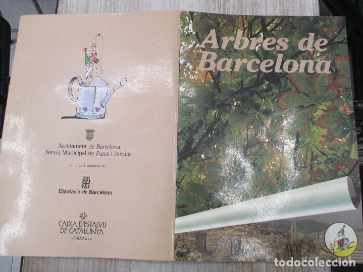 Coleccionismo Álbum: ALBUM CROMOS COMPLETO ORIGINAL ARBRES DE BARCELONA - Foto 3 - 124539375