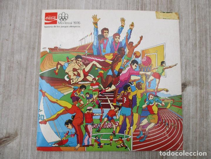 ALBUM CROMOS COMPLETO ORIGINAL MONTREAL 96 COCA COLA (Coleccionismo - Cromos y Álbumes - Álbumes Completos)