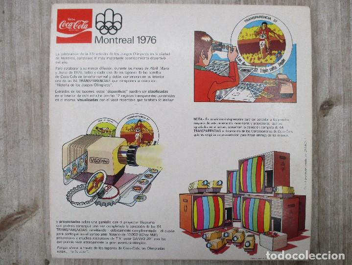 Coleccionismo Álbum: ALBUM CROMOS COMPLETO ORIGINAL MONTREAL 96 COCA COLA - Foto 5 - 124539667