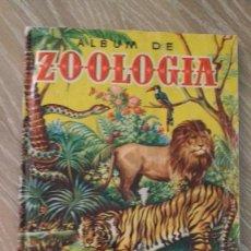 Coleccionismo Álbum: ALBUM DE CROMOS, EDITORIAL BRUGUERA, ALBUM DE ZOOLOGIA. Lote 125032735