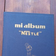 Coleccionismo Álbum: ALBUM DE CROMOS NESTLE EDITADO EN ESPAÑA, COMPLETO. Lote 125086847