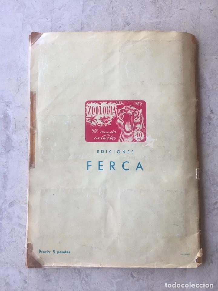 Coleccionismo Álbum: ALBUM ZOOLOGIA COMPLETO. EDICIONES FERCA 1960-1961 - Foto 6 - 125727279