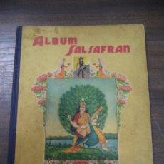 Coleccionismo Álbum: ALBUM COMPLETO. SALSAFRAN. 28 X 22 CM. VER FOTOS. EDITADO POR VDA. DE ARTURO GOMEZ TEJEDOR.. Lote 125906795