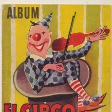 Coleccionismo Álbum: ÁLBUM EL CIRCO Y SU ALEGRÍA. LLOVERAS 1959. TIENE 80 CROMOS DE 200. PORTAL: NORMAL BIEN. INTERIOR: B. Lote 125937300