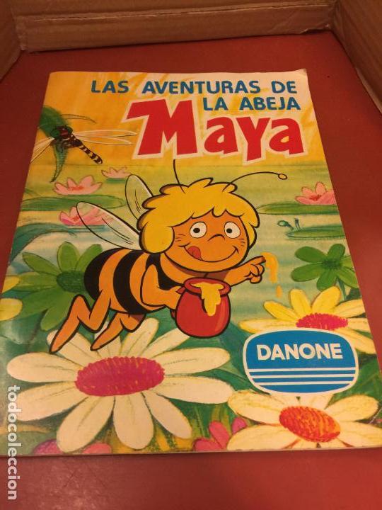 LAS AVENTURAS LA ABEJA MAYA - DANONE - ALBUM DE CROMOS COMPLETO (Coleccionismo - Cromos y Álbumes - Álbumes Completos)