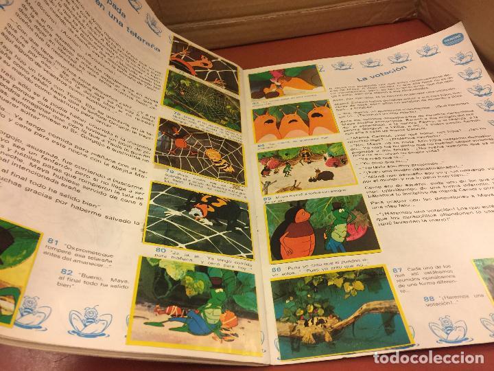 Coleccionismo Álbum: LAS AVENTURAS LA ABEJA MAYA - DANONE - ALBUM DE CROMOS COMPLETO - Foto 3 - 126049387