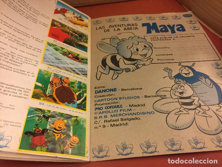 Coleccionismo Álbum: LAS AVENTURAS LA ABEJA MAYA - DANONE - ALBUM DE CROMOS COMPLETO - Foto 4 - 126049387
