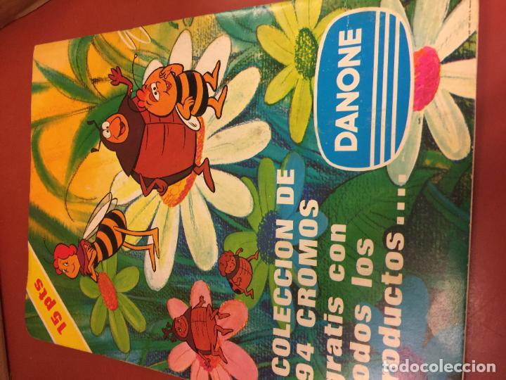 Coleccionismo Álbum: LAS AVENTURAS LA ABEJA MAYA - DANONE - ALBUM DE CROMOS COMPLETO - Foto 5 - 126049387