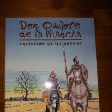 Coleccionismo Álbum: ÁLBUM DON QUIJOTE DE LA MANCHA - COMPLETO. Lote 126136136