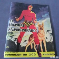 Coleccionismo Álbum: ALBUM FASCIMIL DEL DIFICILISIMO HOMBRE ENMASCARADO,( EL UNICO DE EDITORIAL DOLAR). Lote 175251305