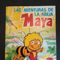 Coleccionismo Álbum: ALBUM LAS AVENTURAS DE LA ABEJA MAYA. COMPLETO. Lote 126244038