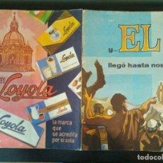 Coleccionismo Álbum: COLECCIÓN COMPLETA - ÁLBUM Y... EL LLEGÓ HASTA NOSOTROS - CHOCOLATE CHOCOLATES LOYOLA - OÑATE1965.. Lote 126258231