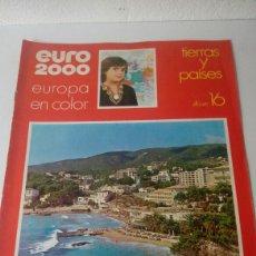 Coleccionismo Álbum: ÁLBUM COMPLETO EURO 2000 N16. Lote 126587048