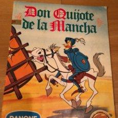 Coleccionismo Álbum: ALBUM DE CROMOS COMPLETO DON QUIJOTE DE LA MANCHA DANONE. Lote 126598548