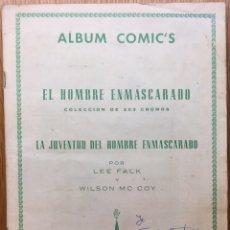 Coleccionismo Álbum: MUY RARO ÁLBUM COMPLETO EL HOMBRE ENMASCARADO - EDITORIAL DÓLAR (MADRID) 1961 ORIGINAL. Lote 127102431