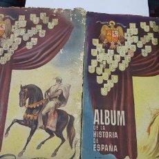 Coleccionismo Álbum: 2 ALBUM HISTORIA DE ESPAÑA , EDAD MEDIA PRIMERA PARTE Y EDAD ANTIGUA COMPLETOS 1947. Lote 127203631