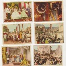Coleccionismo Álbum: SISSI EMPERATRIZ. BRUGUERA 1957. 8 CROMOS SIN PEGAR.. Lote 127235782