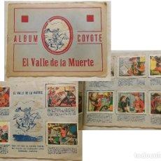 Coleccionismo Álbum: ÁLBUM COYOTE : EL VALLE DE LA MUERTE (COMPLETO) ED CASULLERAS. Lote 127504375
