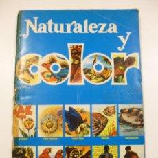 Coleccionismo Álbum: ALBUM DE CROMOS NATURALEZA Y COLOR EDITORIAL CAREN AÑO 1980 COMPLETO 380 CROMOS HERACLIO FOURNIER. Lote 127539383