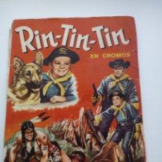 Coleccionismo Álbum: ALBUM RIN-TIN-TIN FHER 1962 COMPLETO. Lote 127776603