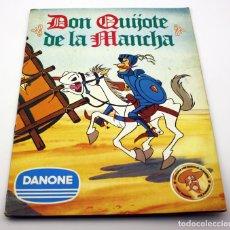Coleccionismo Álbum: ANTIGUO ALBUM DON QUIJOTE DE LA MANCHA - DANONE - COMPLETO - BUEN ESTADO. Lote 127880855