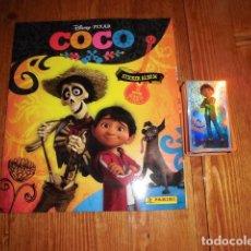 Coleccionismo Álbum: COCO. DISNEY. COLECCION COMPLETA DE CROMOS. ALBUM COMPLETO. SIN PEGAR. PANINI.. Lote 128008483