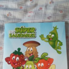 Coleccionismo Álbum: LOS SUPER SALUDABLES GRUPO IFA ALBUM COMPLETO. Lote 128101095