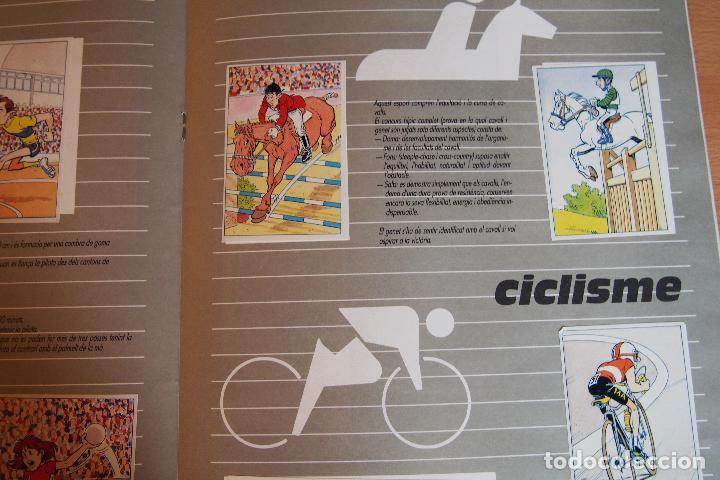 Coleccionismo Álbum: ALBUM CROMOS L'ANXANETA. OR, PLATA, BRONZE. COMPLETO. CAIXA DE CATALUNYA. CAJA CATALUÑA. VER FOTOS - Foto 7 - 128111275