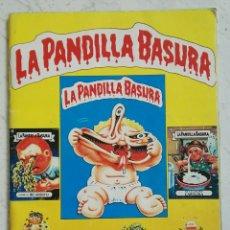 Coleccionismo Álbum: LA PANDILLA BASURA ÁLBUM CROMOS COMPLETO AÑOS 80. Lote 128140478
