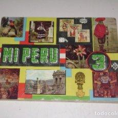 Coleccionismo Álbum: ALBUM MI PERU 3 - EDITORIAL ALMEX 1967 - 100 % COMPLETO. Lote 122601067