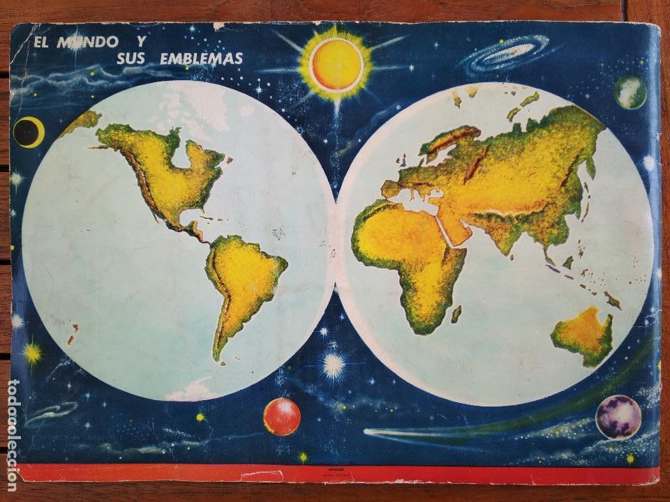 Coleccionismo Álbum: COLECCION UNIVERSAL, LIBRO DE BANDERAS, ESCUDOS, MONEDAS, MAPAS, DISTRIBUIDORA ALES, AÑO 1962 - Foto 3 - 128330971