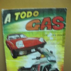 Coleccionismo Álbum: ALBUM CROMOS. A TODO GAS. COMPLETO 187 CROMOS. EDITORIAL MAGA 1982. Lote 128366451