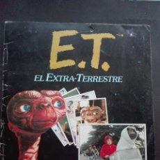 Coleccionismo Álbum: ET. EL EXTRATERRESTRE COLECCIÓN ÁLBUM ESTE COLECCIÓN 120 CROMOS COMPLETO. Lote 128378403