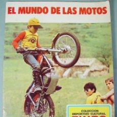 Coleccionismo Álbum: ÁLBUM DE CROMOS, EL MUNDO DE LAS MOTOS, ED. BIMBO. BULTACO. AÑO 1975.. Lote 128437859