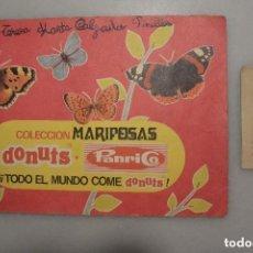 Coleccionismo Álbum: ALBUM CROMOS COMPLETO MARIPOSAS DE PANRICO, MÁS UN SOBRE DE CROMOS SIN ABRIR. Lote 128471371