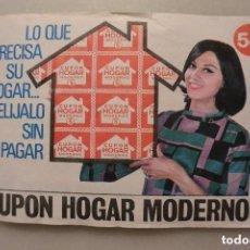 Coleccionismo Álbum: ALBUM COMPLETO DE CUPON HOGAR MODERNO. Lote 128471615