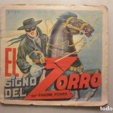 Coleccionismo Álbum: ALBUM CROMOS COMPLETO EL SIGNO DEL ZORRO. Lote 128471835