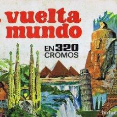 Coleccionismo Álbum: ALBUM LA VUELTA AL MUNDO EN 320 CROMOS COMPLETO. Lote 128542139