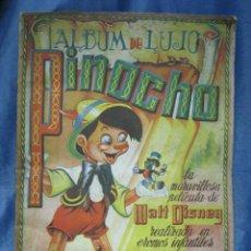 Coleccionismo Álbum: PINOCHO. ALBUM DE LUJO FHER. COMPLETO. Lote 128630211