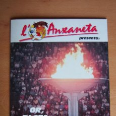 Coleccionismo Álbum: ALBUM CROMOS COMPLETO L'ANXANETA. CAIXA DE CATALUNYA. SERIE OR, PLATA, BRONZE. CAJA AHORROS CATALUÑA. Lote 128676415