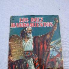Coleccionismo Álbum: LOS DIEZ MANDAMIENTOS - ÁLBUM ED. BRUGUERA 1959 COMPLETO CON 210 CROMOS.. Lote 128739467
