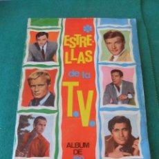 Coleccionismo Álbum: ESTRELLAS DE LA T.V. ALBUM COMPLETO EDICIONES ESTE 1967. Lote 128863299