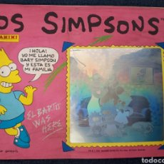 Coleccionismo Álbum: ALBUM COMPLETO LOS SIMPSONS. PANINI. COMPLETO. 1991. Lote 129146675