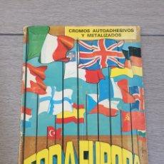 Coleccionismo Álbum: ÁLBUM DE CROMOS COMPLETO. TODA EUROPA [MAPAS, ESCUDOS...]. DIFUSORA DE CULTURA. Lote 129233096