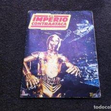 Collectable Albums: ÁLBUM COMPLETO (LA GUERRA DE LAS GALAXIAS. EL IMPERIO CONTRAATACA) ED. FHER, 1980. Lote 129251887