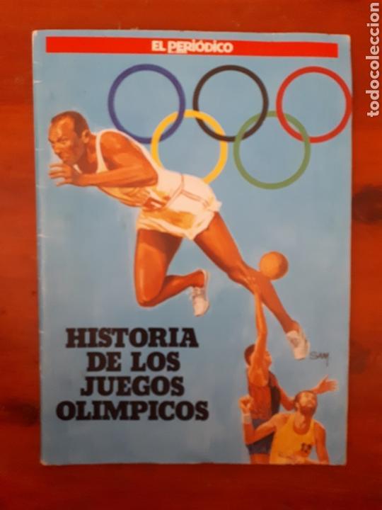 ÁLBUM COMPLETO HISTORIA DE LOS JUEGOS OLÍMPICOS. 1990. EL PERIÓDICO. (Coleccionismo - Cromos y Álbumes - Álbumes Completos)