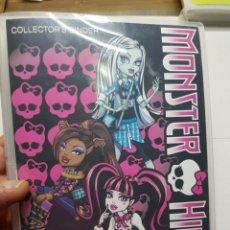 Coleccionismo Álbum: ALBUM COMPLETO MONSTER HIGH AÑO 2011. Lote 129355550